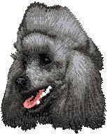 Poodle (black) D18