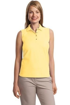 Port Authority® – Ladies Silk Touch™ Sleeveless Sport Shirt. L500SVLS