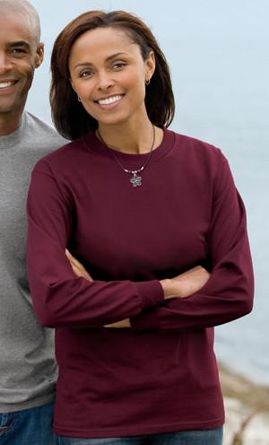 PC61LS – Port & Company® 100% Cotton Essential Long Sleeve T-Shirt