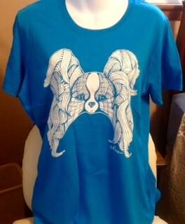 Ladies Sapphire Crew Collar Shirt