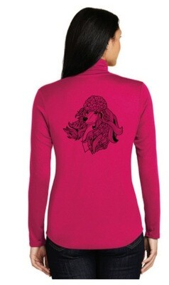 Sport-Tek® Ladies PosiCharge® Competitor™ 1/4-Zip Pullover L357  If you order a Poodle Zentangle item after Oct. 18, 2019 your item will not ship before Dec.7, 2019.