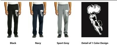 18400 Gildan® Heavy Blend™ Open Bottom Sweatpants