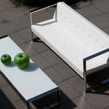 CIMA LOUNGE Сима лаунж мебель для террасы из нержавеющей стали Fuera Dentro Голландия