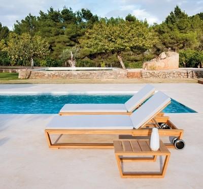 LINEAL Линеал мебель из тика Point Испания