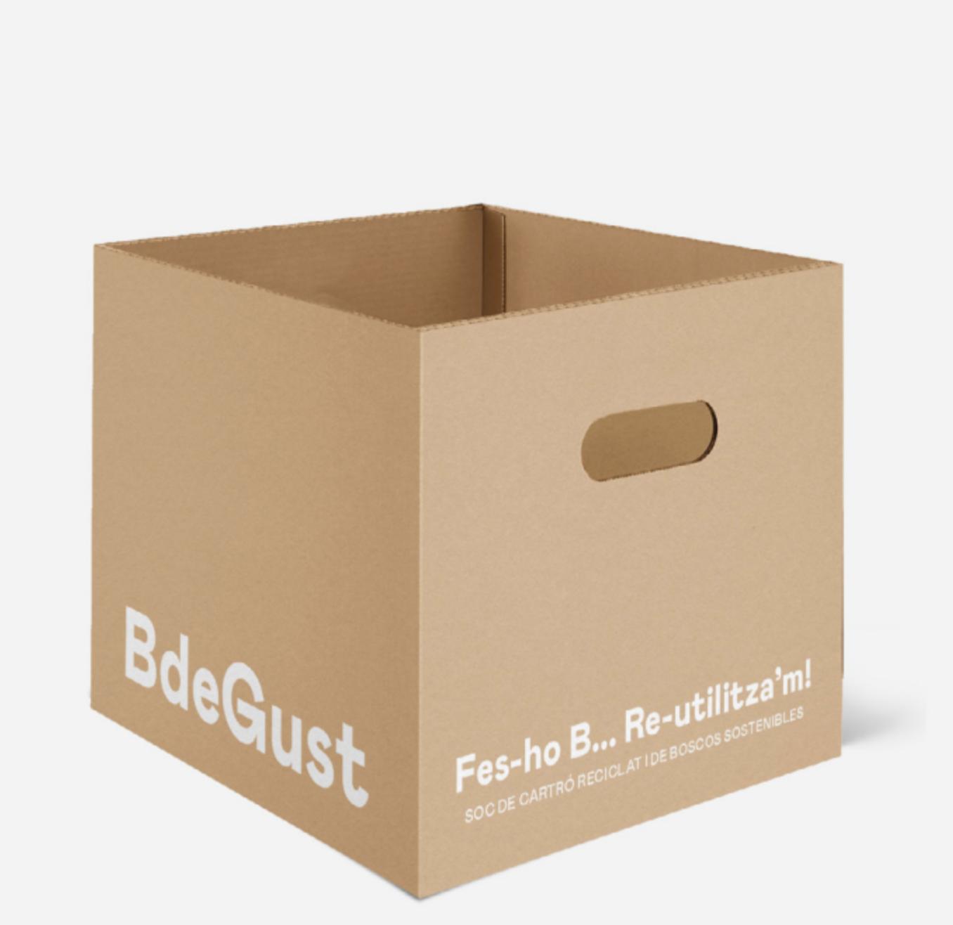 Caixa / Caja de 9 x BdeGust eco-Lager