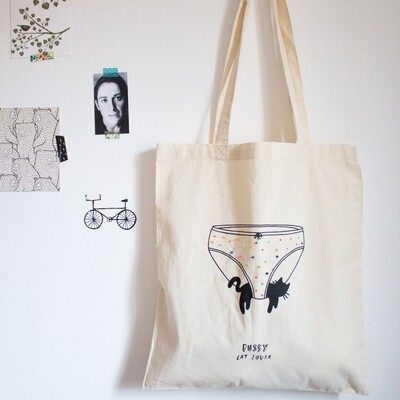 TOTE BAG SERIGRAFIADA & BORDADA