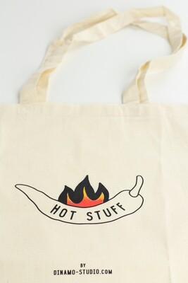 TOTE BAG HOT STUFF