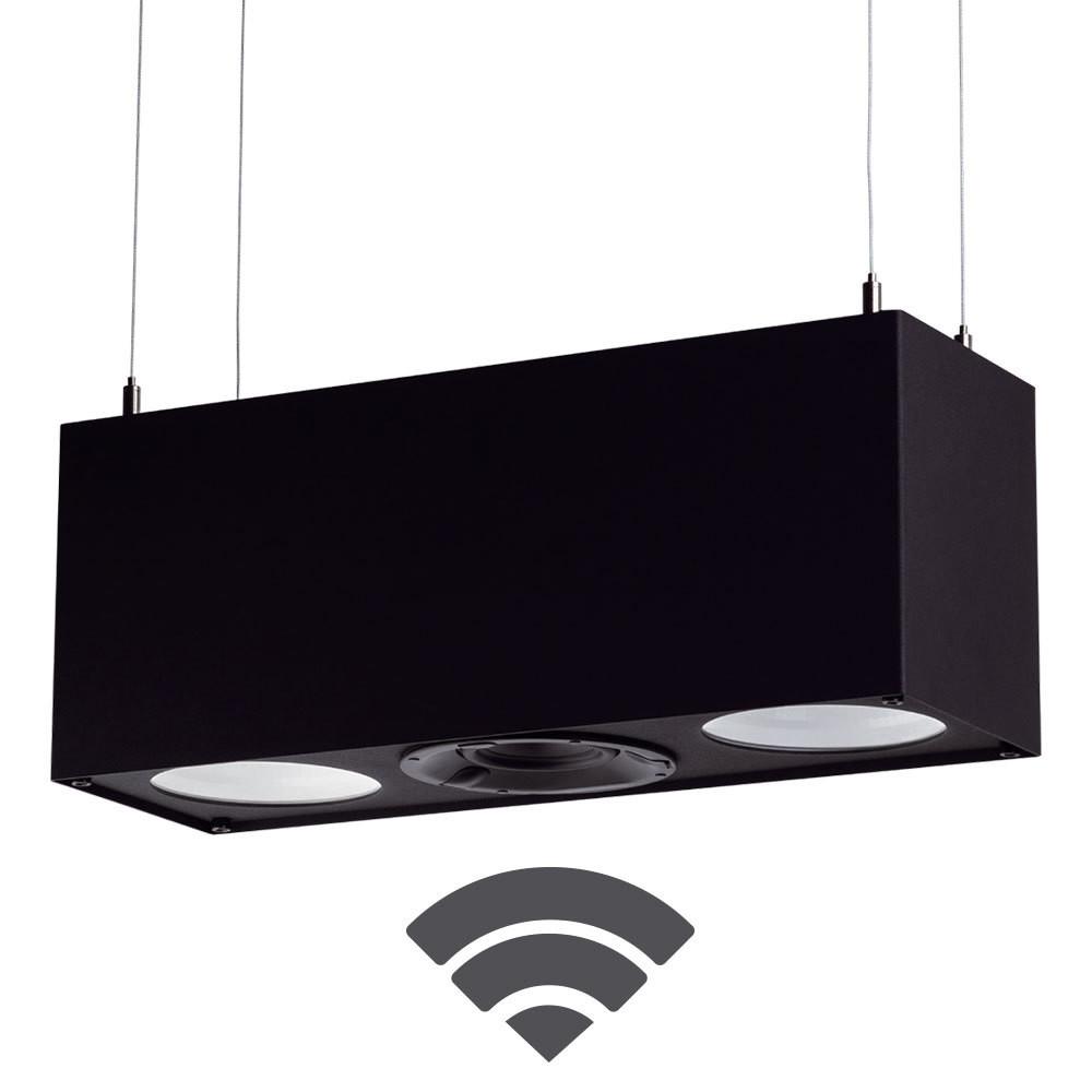TRIPLEX LED Strahler & Speaker (wireless)