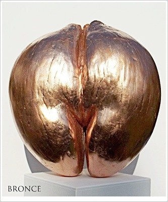 Coco de Mer bronce