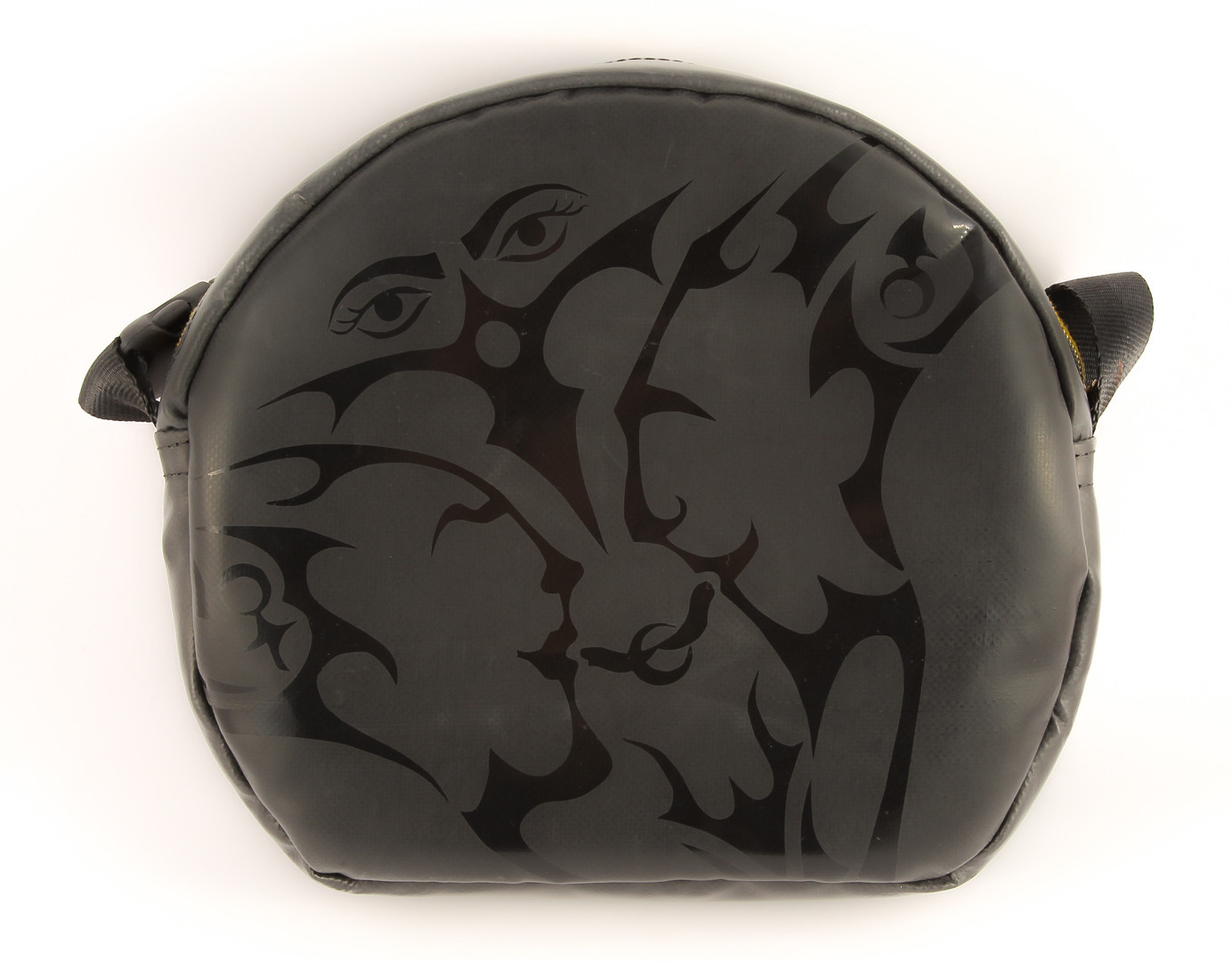 Handtasche INSOMNIA DarkStar rund - Handarbeit - Made in Germany