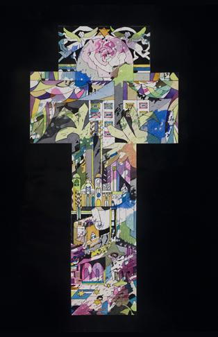 New Jerusalem Cross