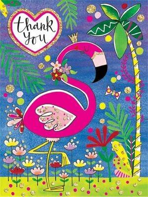 Rachel Ellen Mini Unicorn Design Thank You Cards Girls Party Note Cards 5 Pack