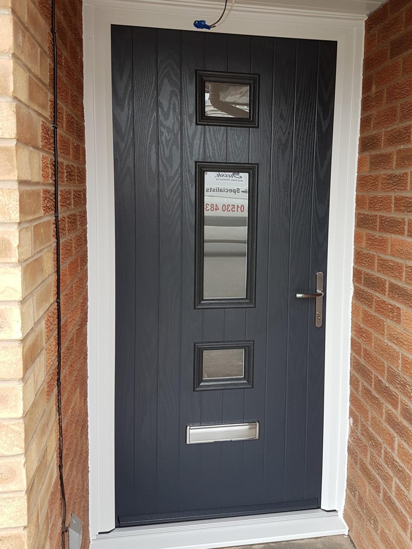 Mid 3 Square Composite Door