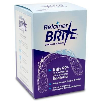 Retainer Brite Cleaning Tablets 96 Pack