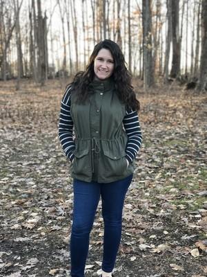 Curvy Girl Fur Lined Vest