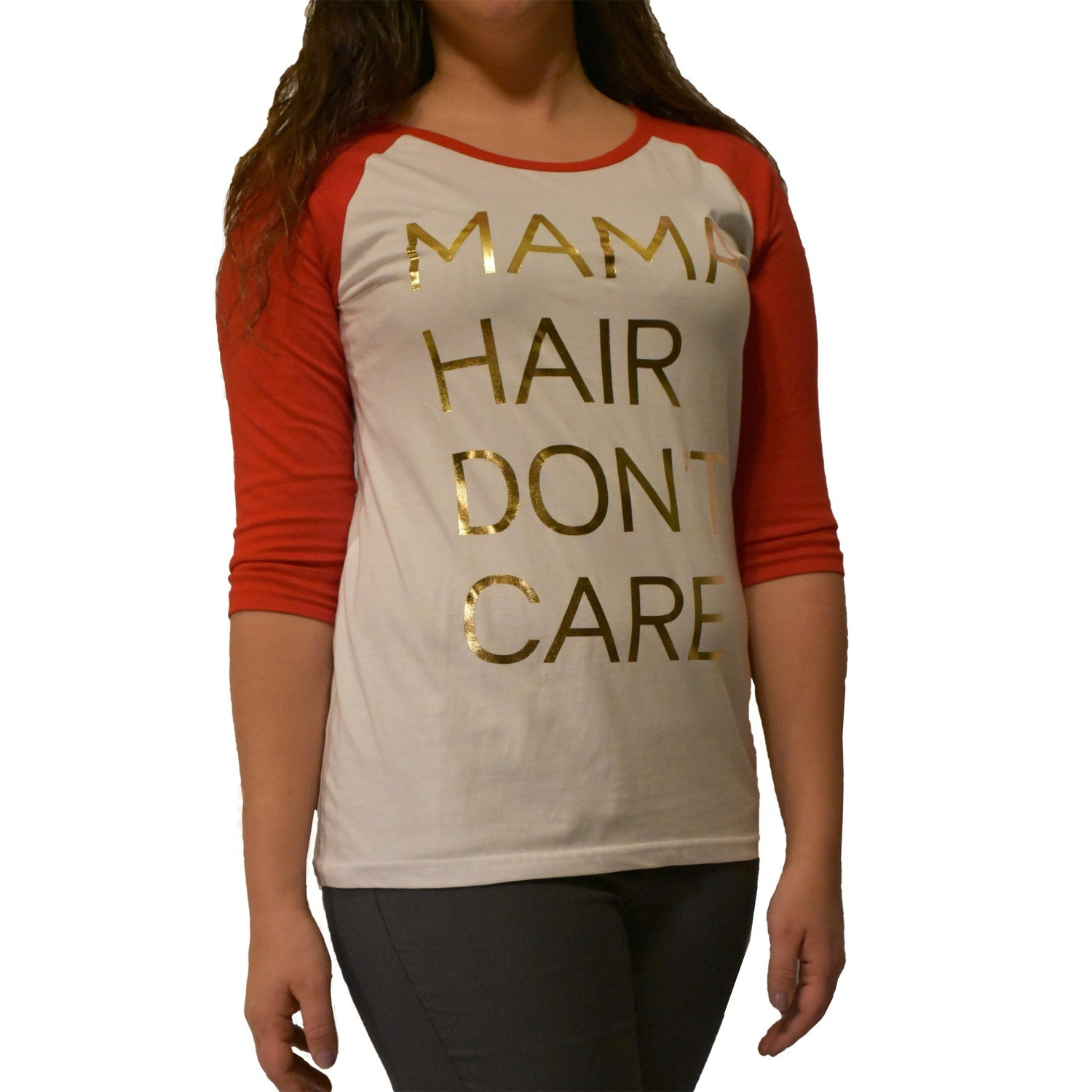 Mama Hair Dont Care Graphic Shirt