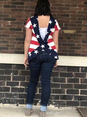 Patriotic Crossback
