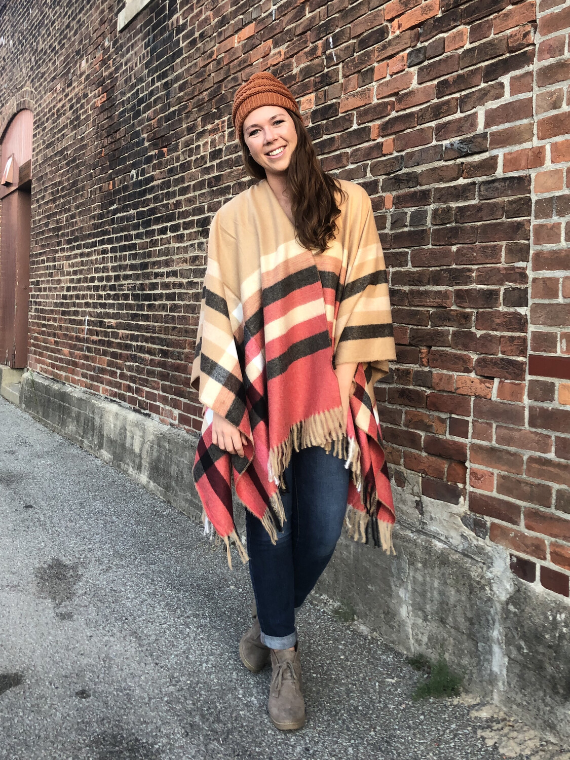 Poncho Sweater One Size