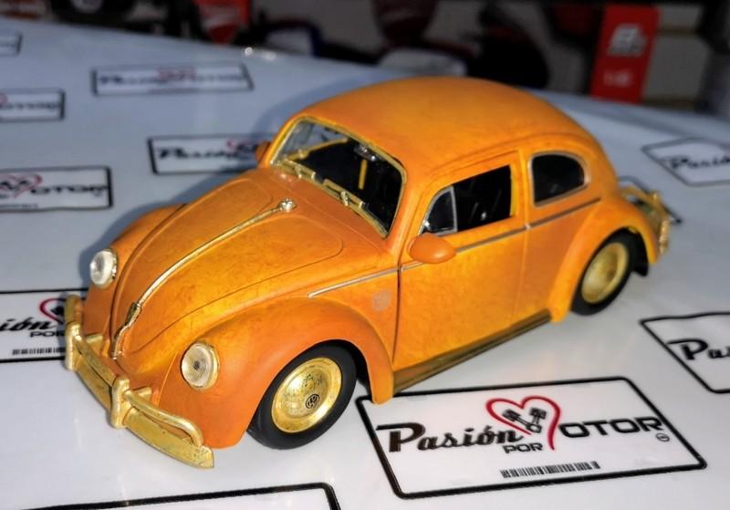 1:24 Volkswagen Beetle 1971 Bumblebee Jada Toys Transformers En Display / A Granel