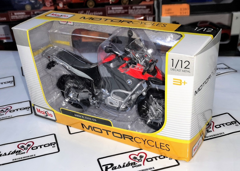 1:12 Bmw R 1200 Gs Moto Maisto Motorcycles