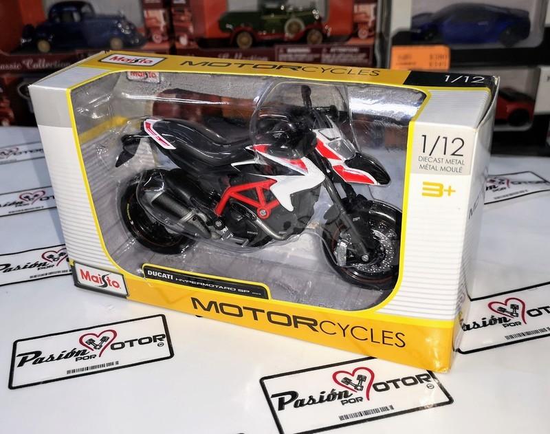1:12 Ducati Hypermotard Sp 2013 Moto Maisto Motorcycles