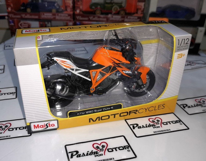 1:12 Ktm 1290 Super Duke R Naranja Moto Maisto Motorcycles