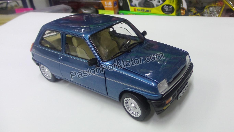 1:18 Renault 5 Alpine Turbo 1981 Azul Norev