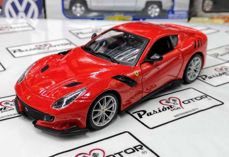 1:24 Ferrari F12 TDF 2015 Rojo Bburago Race & Play Burago En Display / A Granel