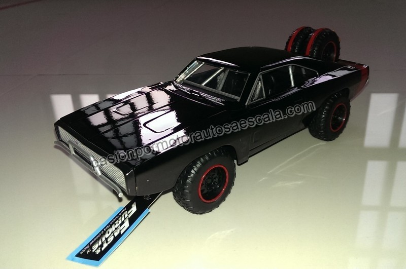 1:24 Dodge Charger 1970 Off Road Rapido Y Furioso 7 Jada Toys En Display / A Granel