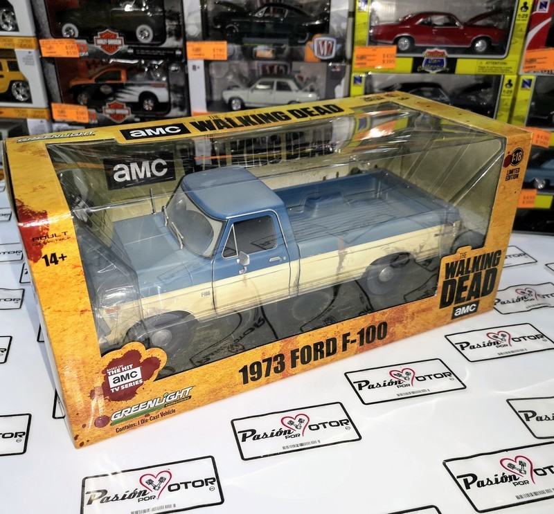 1:18 Ford F-100 Pick Up 1973 The Walking Dead Greenlight