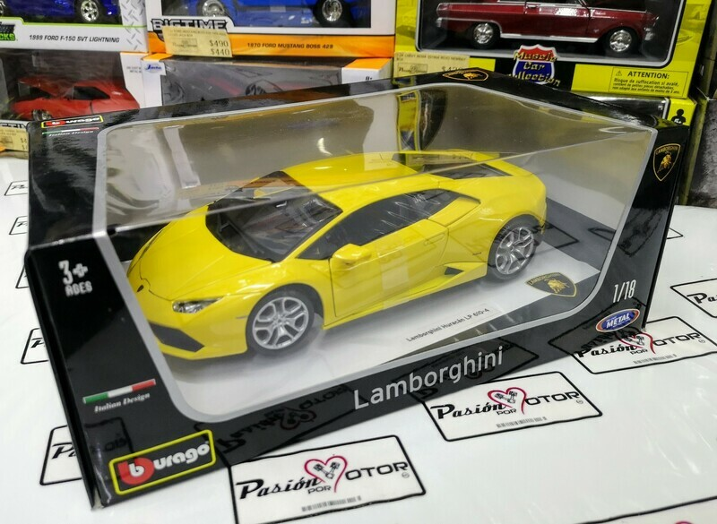 1:18 Lamborghini Huracan LP610-4 Amarillo Bburago Burago
