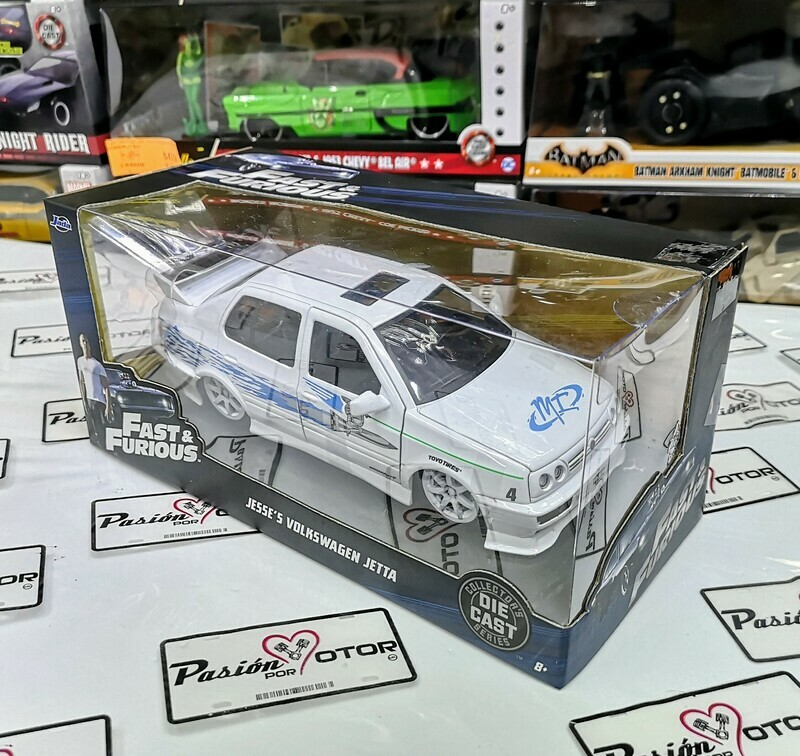 1:24 Volkswagen Jetta A3 Jesse Rapido Y Furioso Jada Toys C Caja