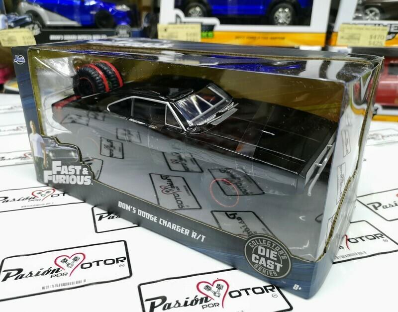 1:24 Dodge Charger 1970 Off Road Rapido Y Furioso 7 Jada Toys Caja