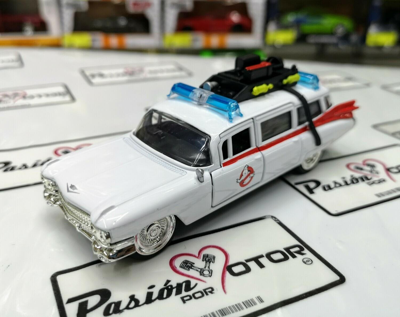 1:32 Ecto 1 Ghosthbusters Cadillac Ambulance Cazafantasmas Jada Display a Granel 1:48