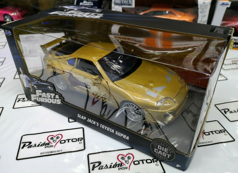 1:24 Toyota Supra 1995 Slap Jack´s Rapido Y Furioso 2 Jada Toys C Caja