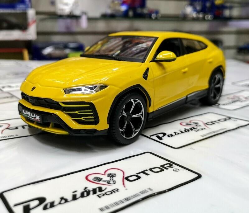 1:25 Lamborghini Urus 2018 Amarillo Maisto Special Edition En Display / A Granel