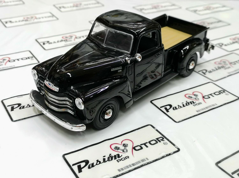 1:25 Chevrolet 3100 Pick Up 1950 Negro Maisto Special Edition En Display / A Granel 1:24