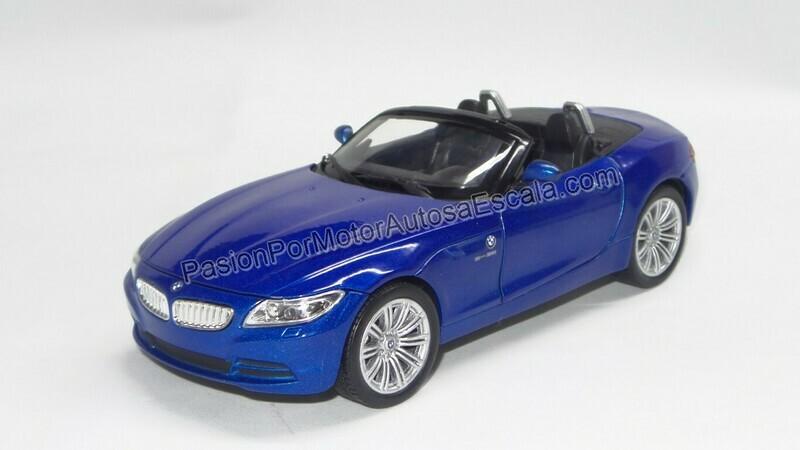 1:24 BMW Z4 2009 Azul New Ray C Caja