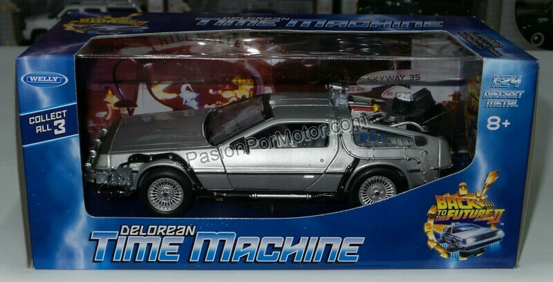 1:24 DMC DeLorean Volver al Futuro II Back To The Future Welly