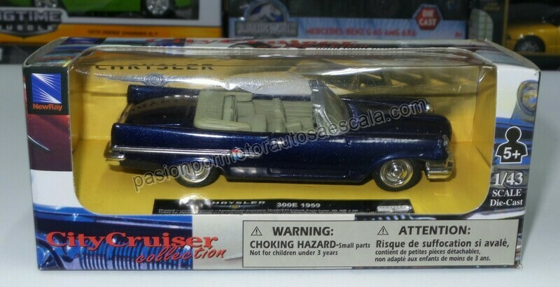 1:43 Chrysler 300E Convertible 1959 Azul New Ray