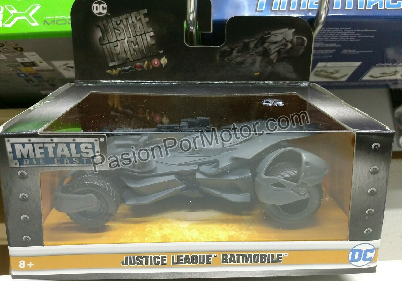 1:32 / 1:43 Batimovil Justice League 2017 Batman Jada Toys Metals DC Comics En Caja