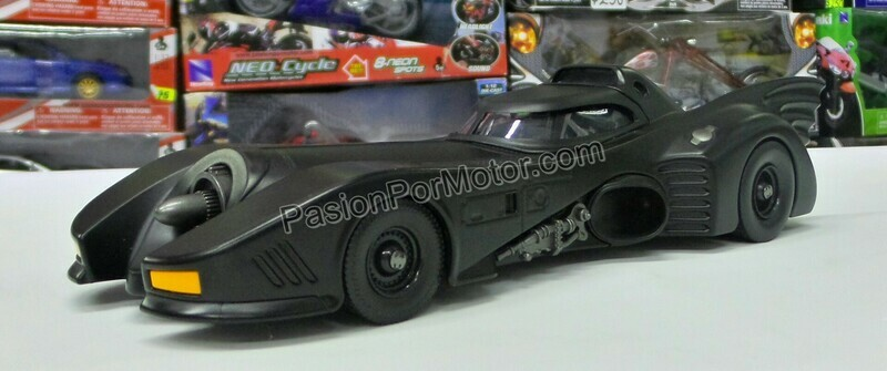 1:24 Batimovil 1989 - 1992 Batman Jada Toys Metals DC Comics En Display / A Granel