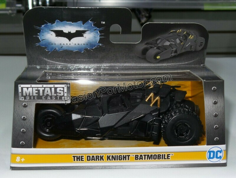 1:32 / 1:43 Batimovil The Dark Knight 2005 Batman Jada Toys Metals DC Comics En Caja