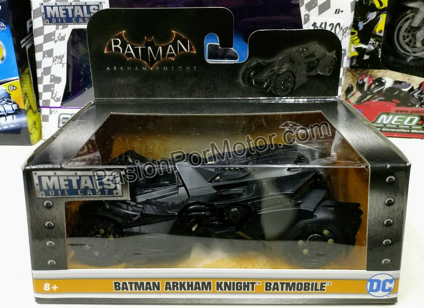 1:32 / 1:43 Batimovil Batman Arkham Knight 2015 Jada Toys Metals DC Comics En Caja