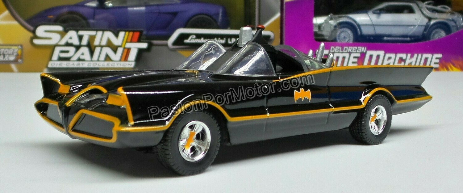 1:32 / 1:43 Batimovil Classic TV Series 1966 Batman Jada Toys Metals DC Comics En Display / A Granel