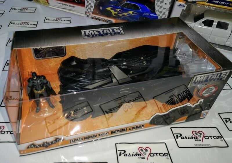 1:24 Batimovil Batman Arkham Knight 2015 Jada Toys Metals DC Comics En Caja