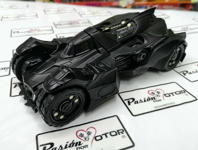 1:24 Batimovil Batman Arkham Knight 2015 Jada Toys Metals DC Comics En Display / A Granel