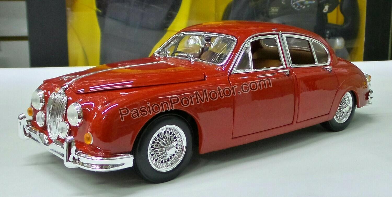 1:18 Jaguar Mark II 1959 Guinda Bburago