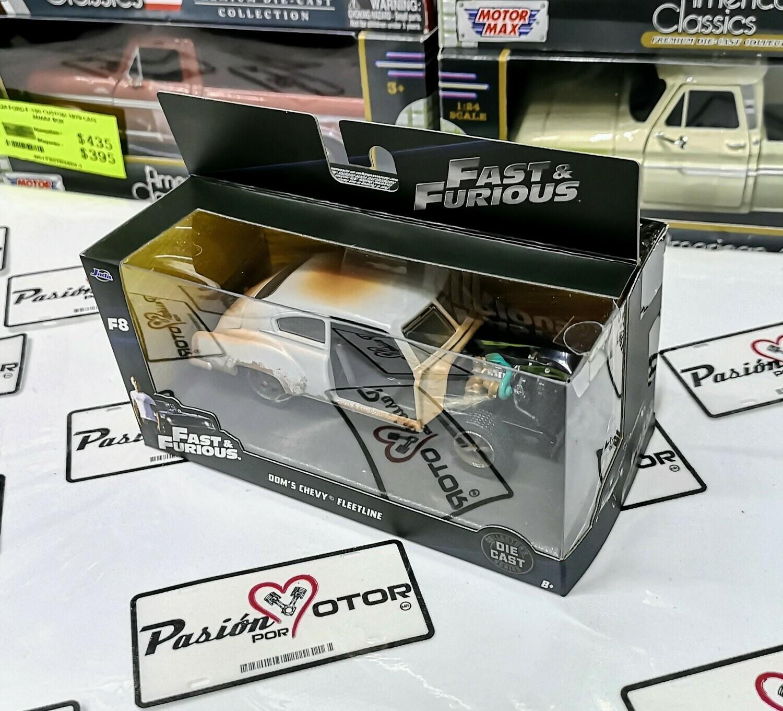 1:32 Chevrolet Fleetline 1951 Dom's Toretto Jada Toys Rapido y Furioso 8 En Caja