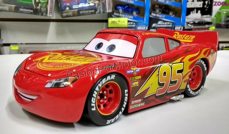 1:24 Lightning Mc Queen Rayo Cars 3 Jada Toys Metals Disney En Display / A Granel
